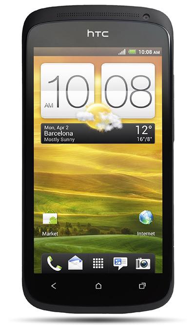 HTC One S pantalla frente
