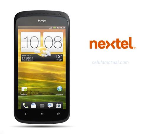 HTC One S en Nextel México logo
