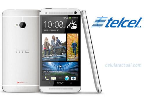 HTC One ya en México con Telcel