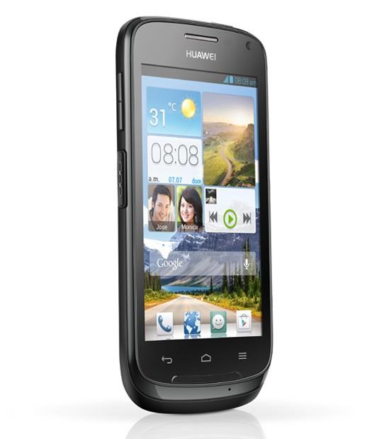 Huawei Contact en México con Nextel pantalla de lado 2