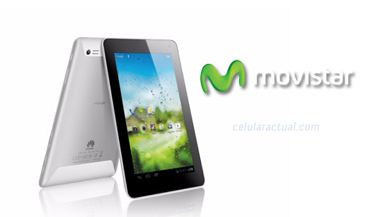 Huawei MediaPad 7 lite II en México con Movistar
