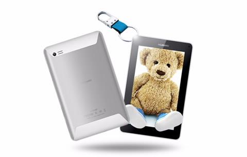Huawei MediaPad 7 lite II en México con Movistar pantalla y parte trasera