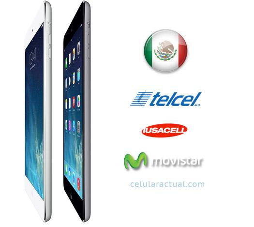 iPad mini pantalla Retina en México logos compañías
