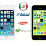 iPhone 5s y iPhone 5c ya en México en Telcel, Iusacell y Movistar