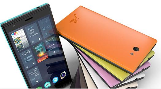 El Jolla smartphone con Sailfish OS colores