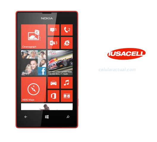 Lumia 520 en Iusacell México