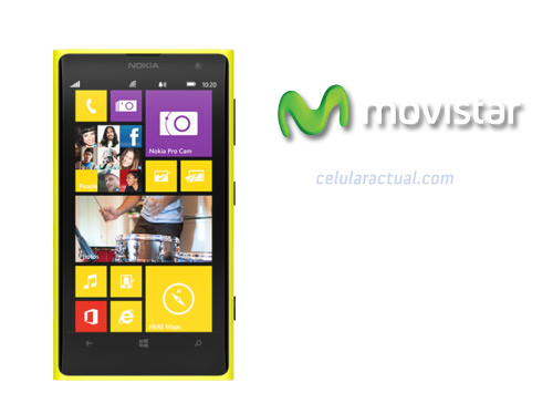 Nokia Lumia 1020 con 41 MP en Movistar México