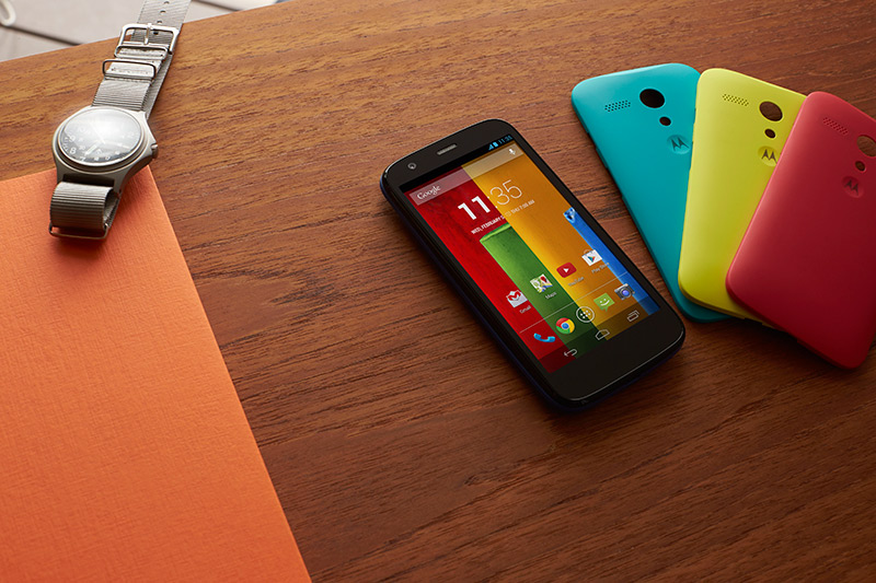 Motorola Moto G cubiertas