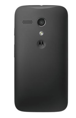 Motorola Moto G trasera cámara de 5 MP