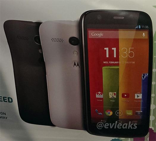 Motorola Moto G filtración