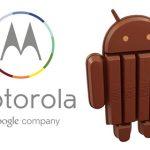 Motorola publica lista de samartphones que recibirán Android 4.4 KitKat