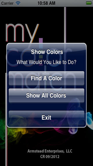 my color match