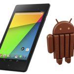 Nexus 7 y Nexus 10 reciben Android 4.4 KitKat, al Moto G en semanas