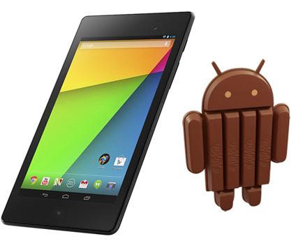 Nexus 7 II 2013 con Android 4.4 KitKa