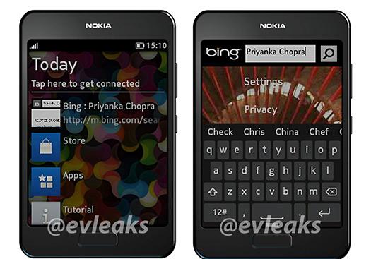 Nokia Asha edition con Bing