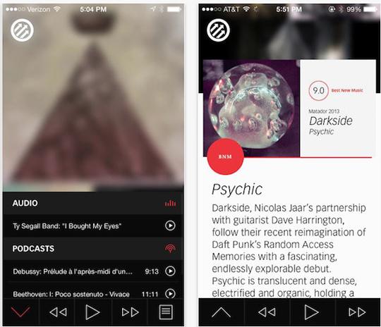 app pitchfork weekly