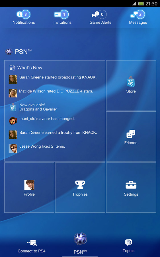 Sony Sony PlayStation App PSN