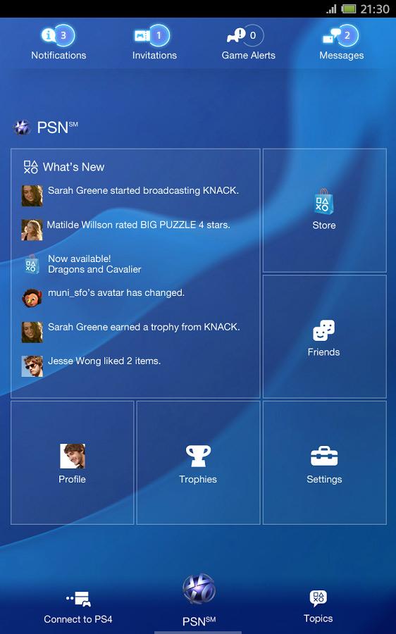 Sony Sony PlayStation App PSN