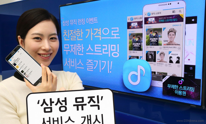 Samsung Music ya en Corea