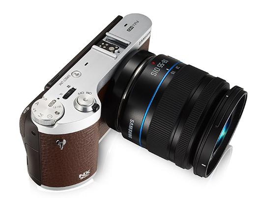 Samsung cámara NX-300M con Tizen OS