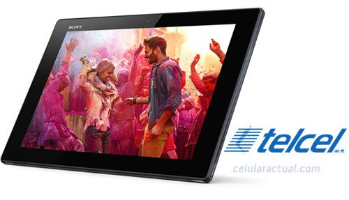 Sony Xperia Tablet Z en México con Telcel