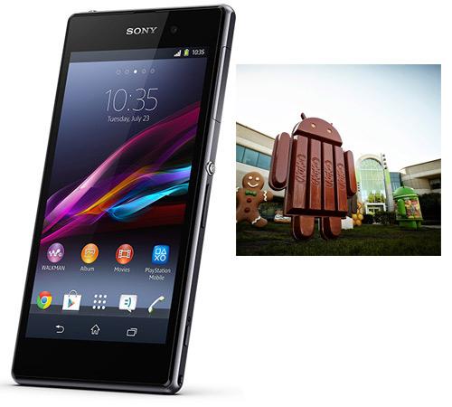 Android 4.4 KitKat llegará a los Xperia Z, ZL, Z Ultra, Z1 y Tablet Z