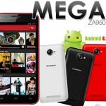 Zonda Mega ZA950 un nuevo Android 4.2  libre ya en México