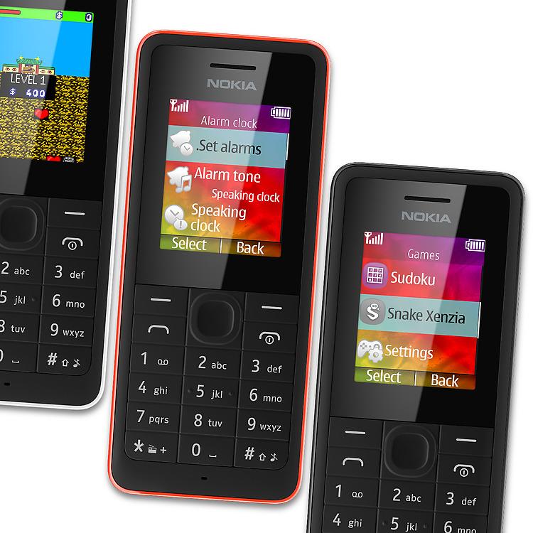 Nokia 106 colores
