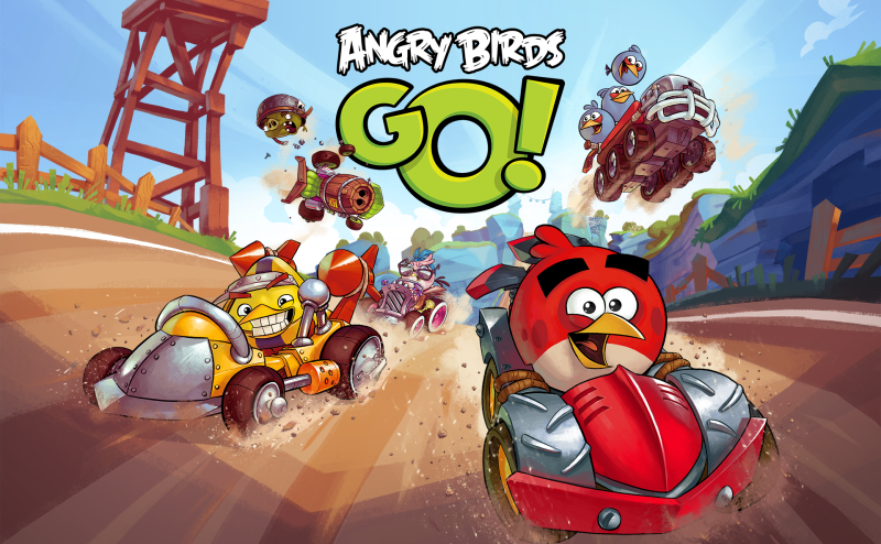 Angry Birds Go! ya disposnible en iPhone, Android, Windows Phone y BlackBerry