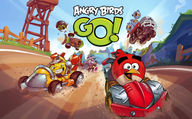 Angry Birds Go! iOS, Android, Windows Phone, BlackBerry