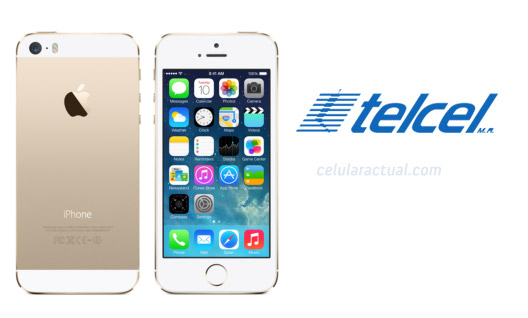 Apple iPhone 5s en México Amigo Kit con Telcel color Oro
