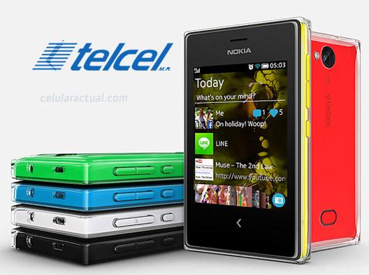 Nokia Asha 503 en México con Telcel