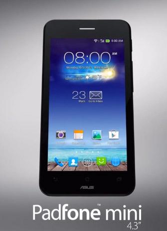 Asus Padfone Mini 4.3 ya es oficial