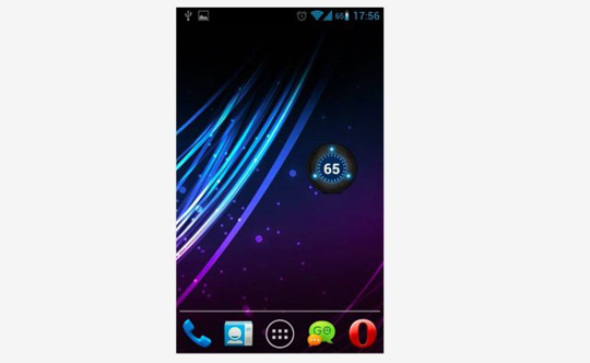 app battery widget