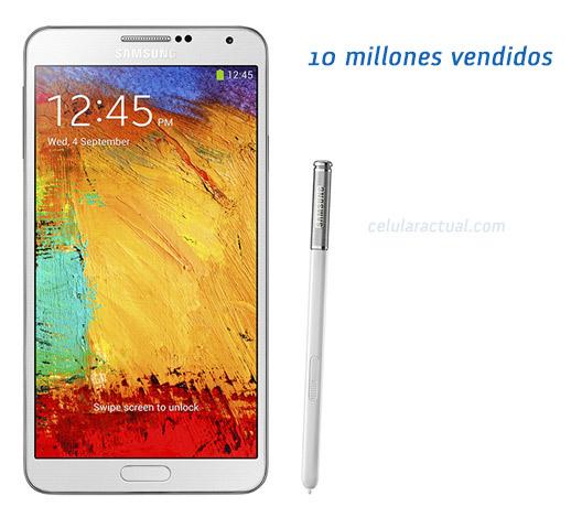 Galaxy Note 3 10 millones de unidades