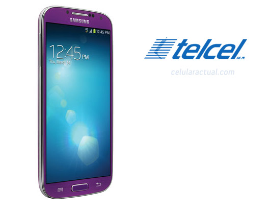 El Samsung Galaxy S4 color morado (Purple Mirage) en México con Telcel