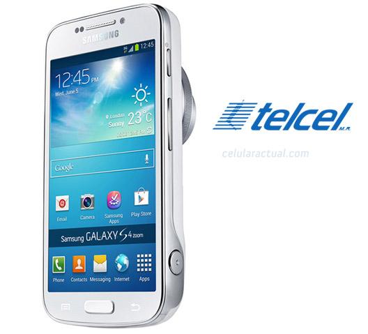 Samsung Galaxy S4 Zoom SM-C105 en México con Telcel