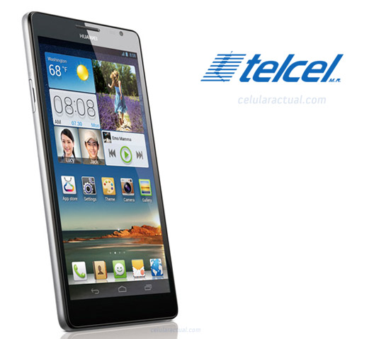 Huawei Ascend Mate en México Telcel