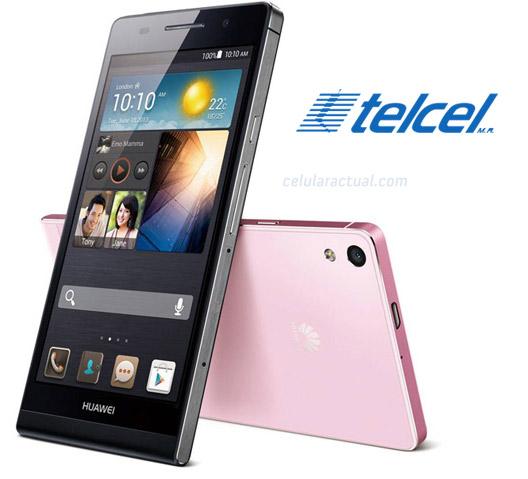 Huawei Aacend P6 llega ahora a Telcel en México