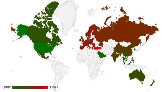 mapa iPhone