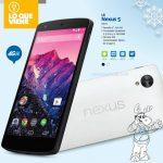 LG Nexus 5 de 16 GB pronto en México con Telcel