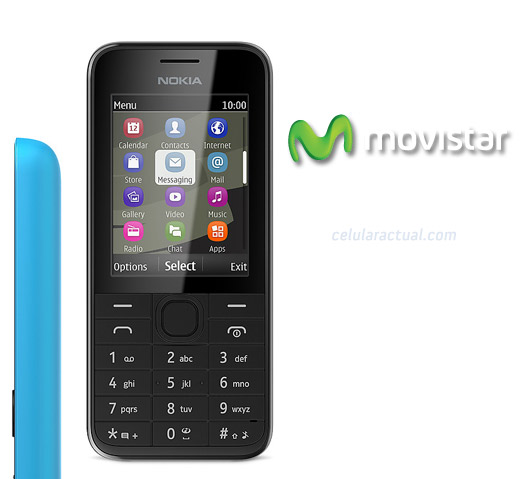 Nokia 208 en México con Movistar