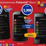 Polaroid Turbo 400, 453 y Cosmo 502 con Android JB libres ya en México