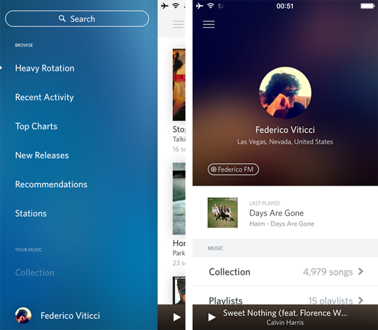 Rdio añade nuevas características a app de iOS