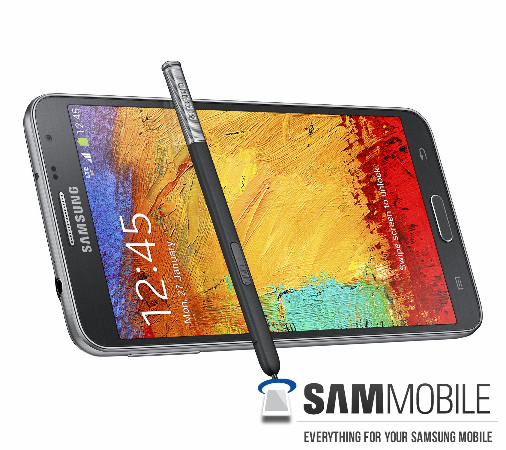 Samsung Galaxy Note 3 Neo offical Pantalla de lado y S-Pen