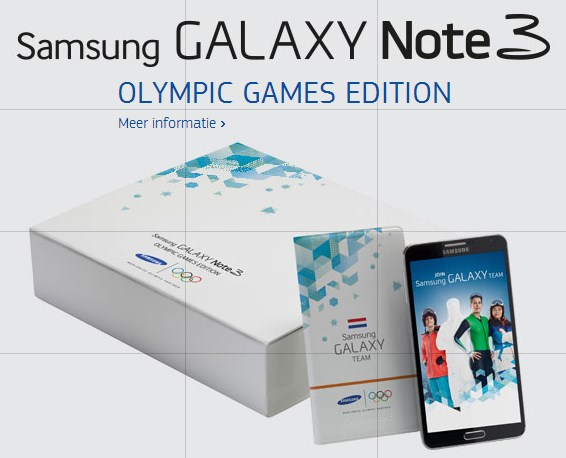 Samsung Galaxy Note 3 Olympic Games Edition Sochi 2014