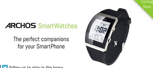 Archos presenta sus SmartWatches desde 50 USD