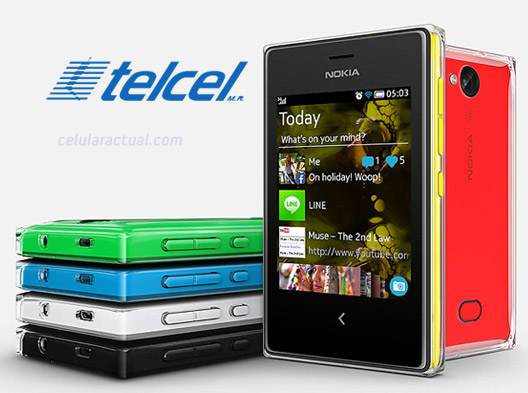 Nokia Asha 503 en Telcel México