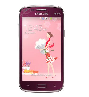 Samsung Galaxy Core LeFleur pantalla