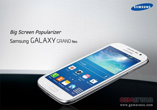 Samsung Galaxy Grand Neo filtrado en documento interno